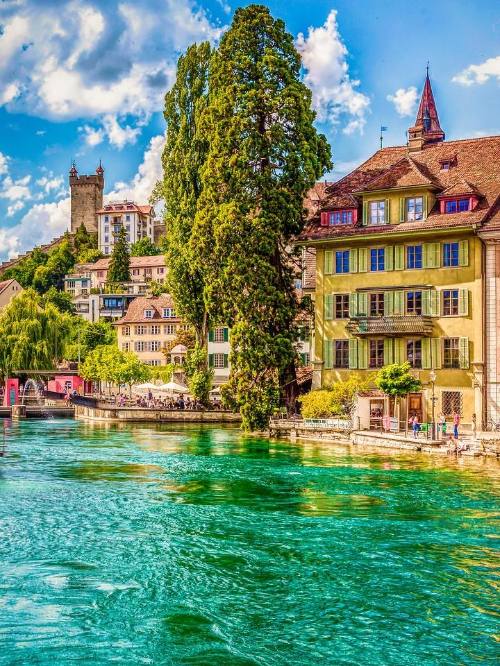 瑞士卢塞恩(Lucerne),墙上杰作_图1-17