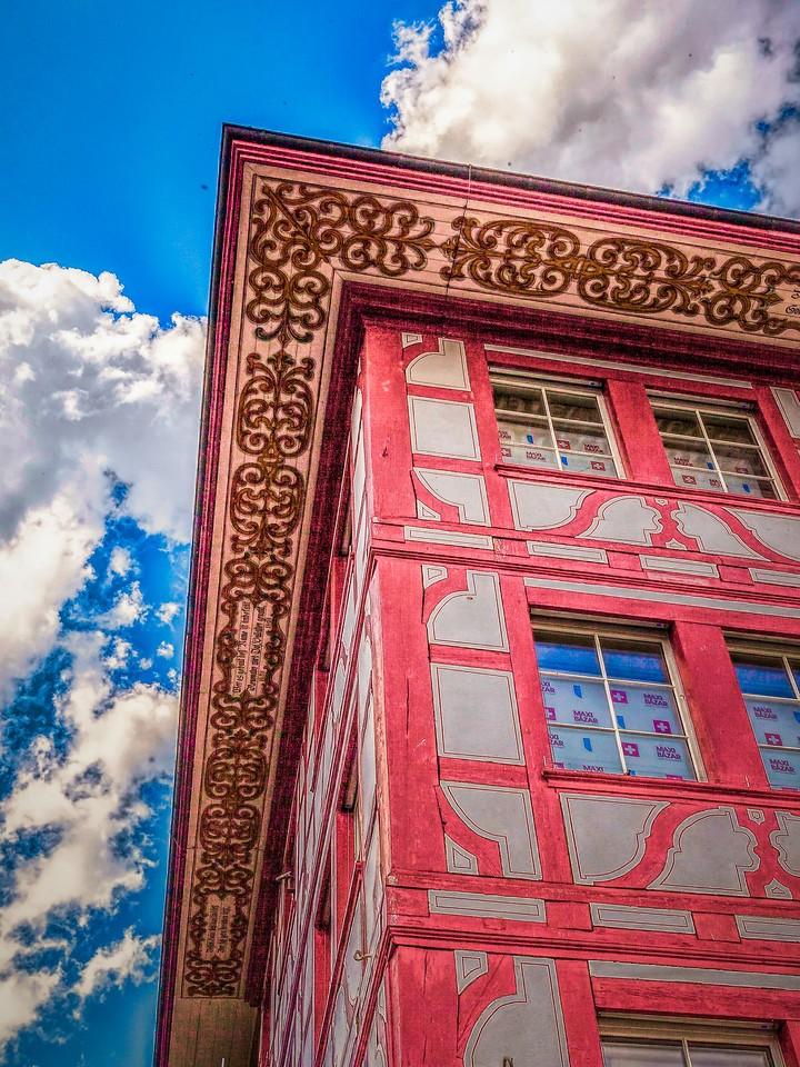 瑞士卢塞恩(Lucerne),墙上杰作_图1-19