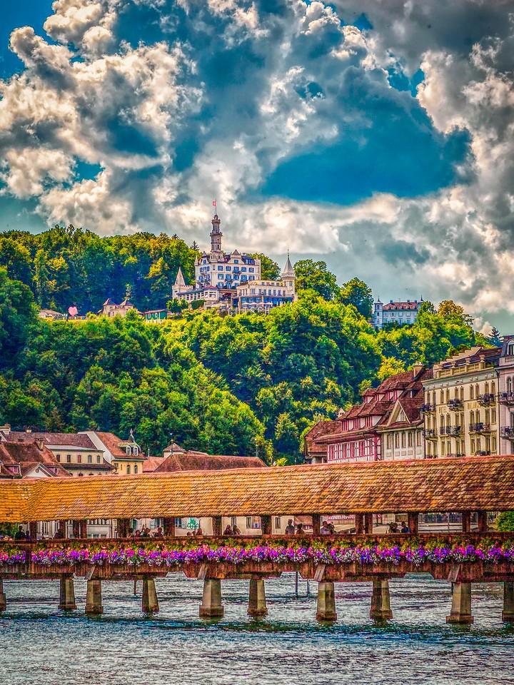 瑞士卢塞恩(Lucerne),墙上杰作_图1-20