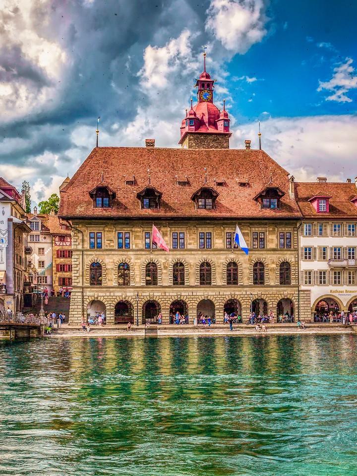 瑞士卢塞恩(Lucerne),墙上杰作_图1-15
