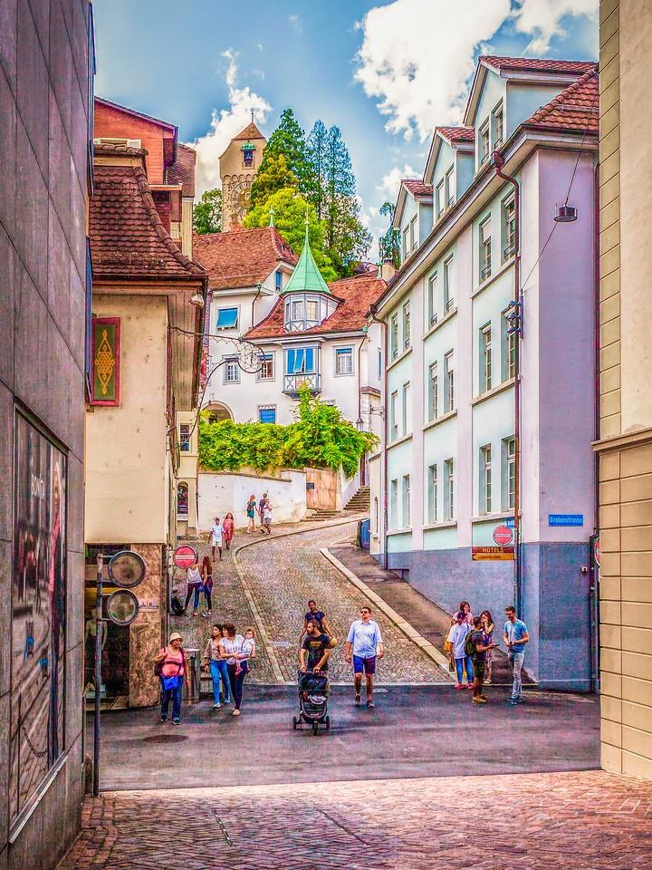 瑞士卢塞恩(Lucerne),墙上杰作_图1-13