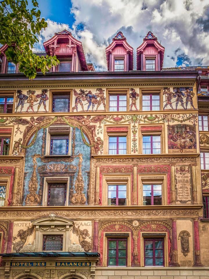 瑞士卢塞恩(Lucerne),墙上杰作_图1-11