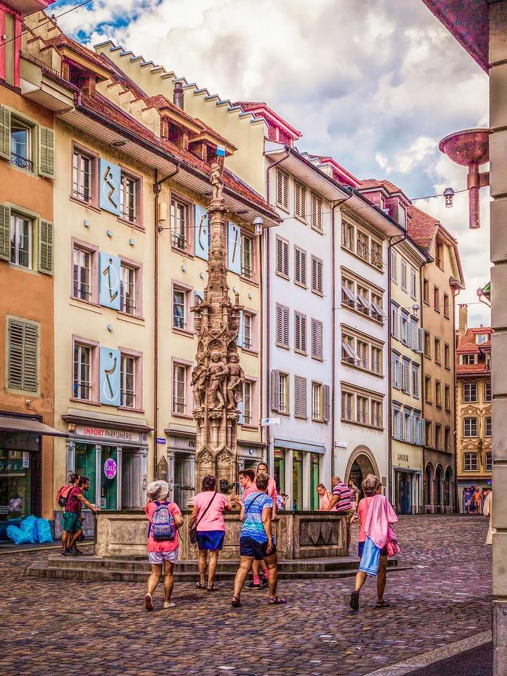 瑞士卢塞恩(Lucerne),墙上杰作_图1-12