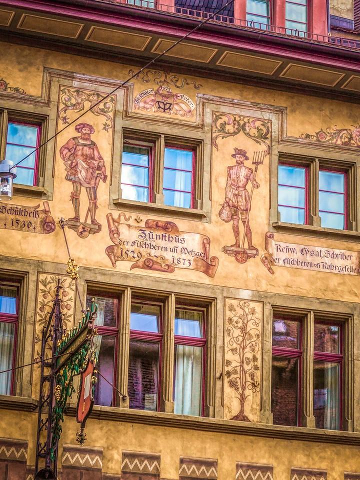 瑞士卢塞恩(Lucerne),墙上杰作_图1-4