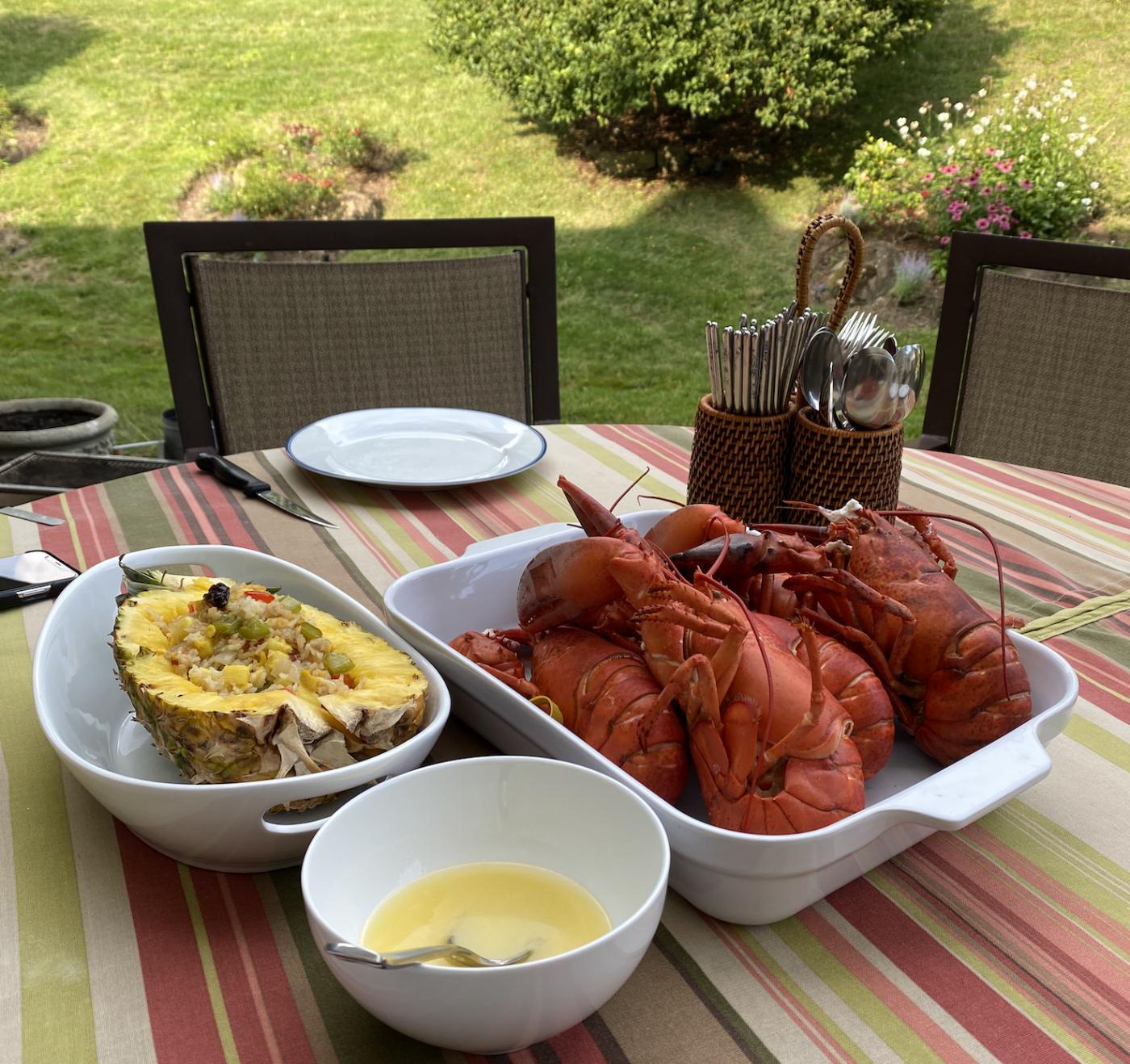炎炎夏日下的家庭式龙虾大餐_图1-4