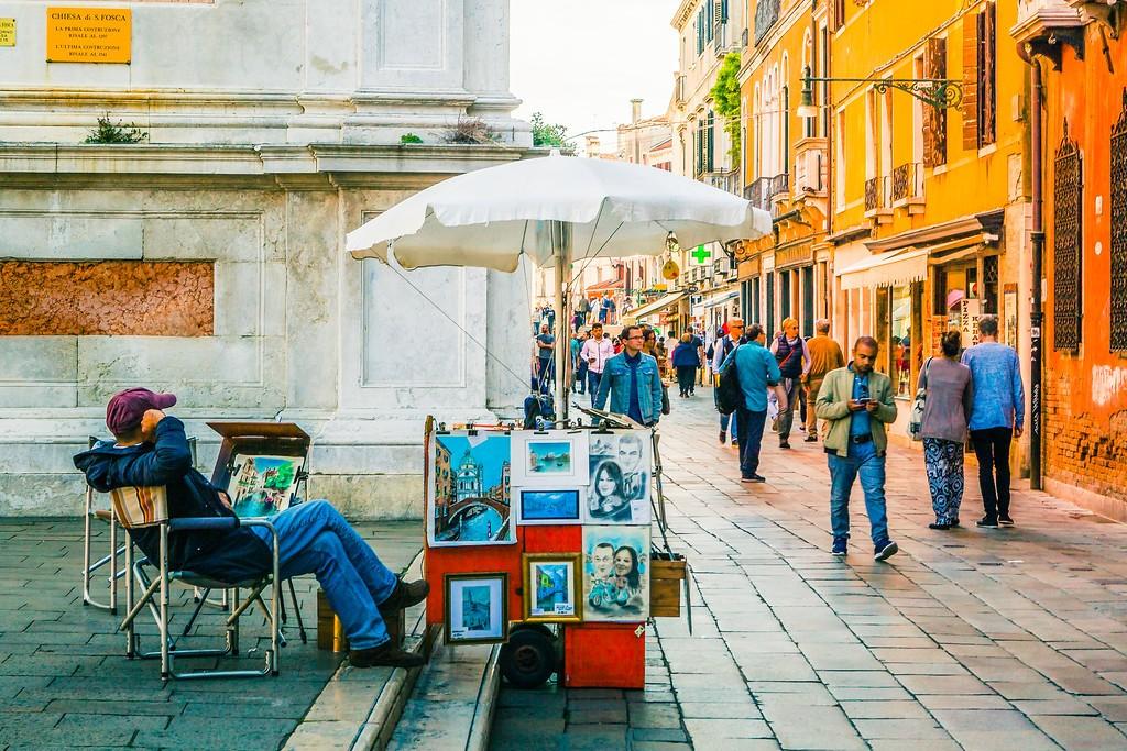 意大利威尼斯,大街小巷面面观_图1-25