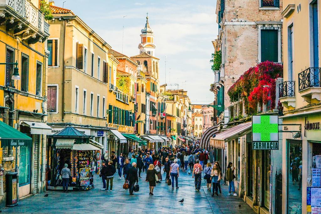 意大利威尼斯,大街小巷面面观_图1-16