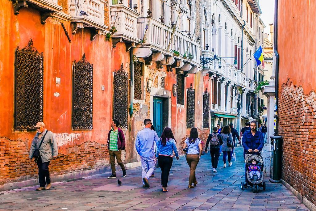 意大利威尼斯,大街小巷面面观_图1-3
