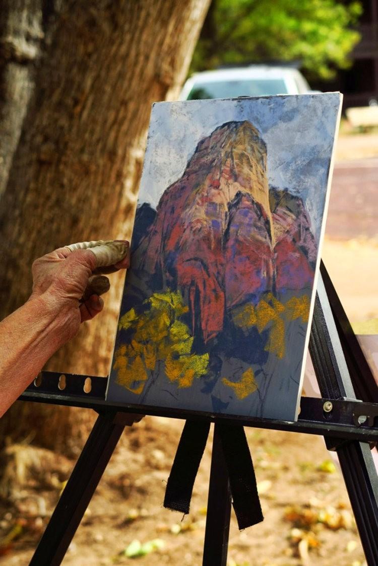 锡安公园的画家们_图1-7