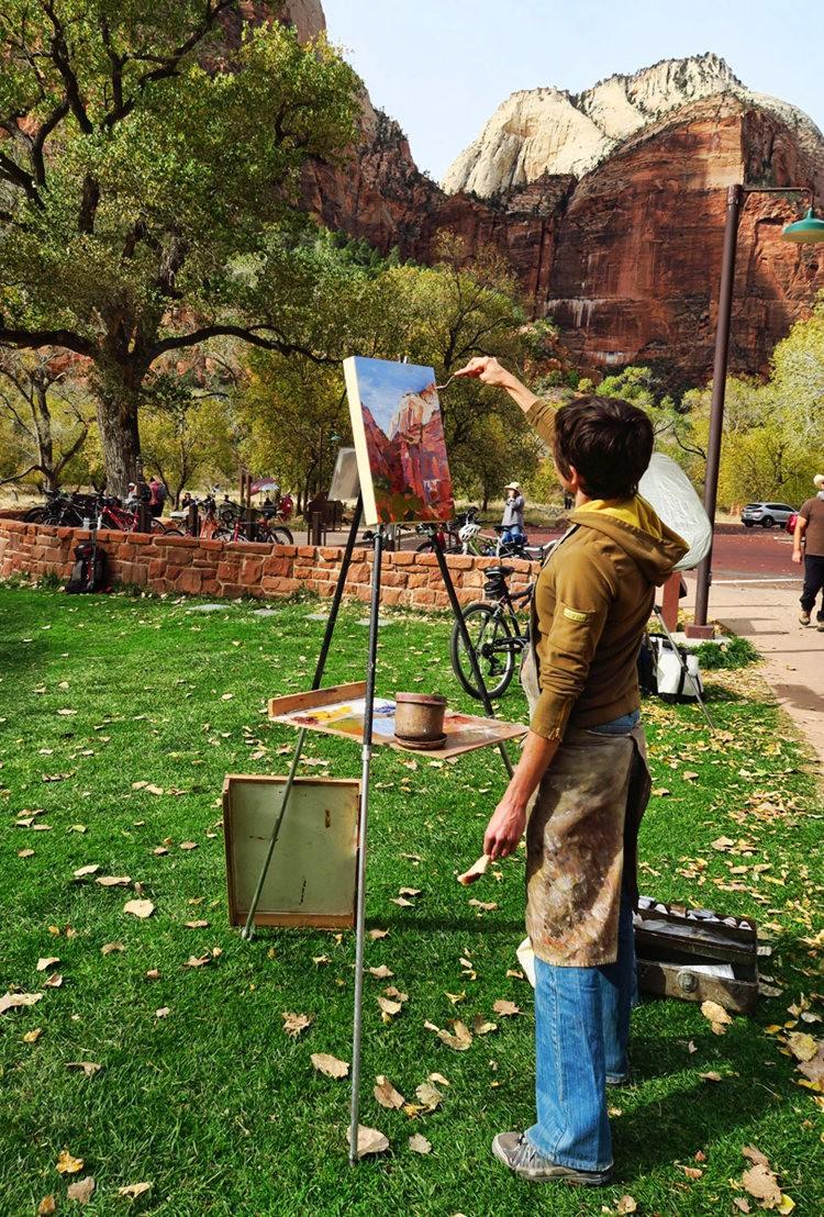 锡安公园的画家们_图1-13