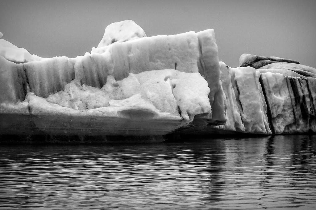 冰岛冰川泻湖(Glacier Lagoon),水上冰雕_图1-3