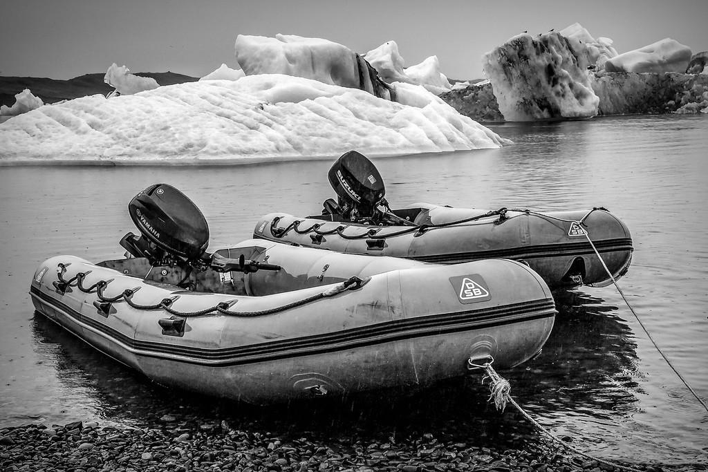 冰岛冰川泻湖(Glacier Lagoon),水上冰雕_图1-6