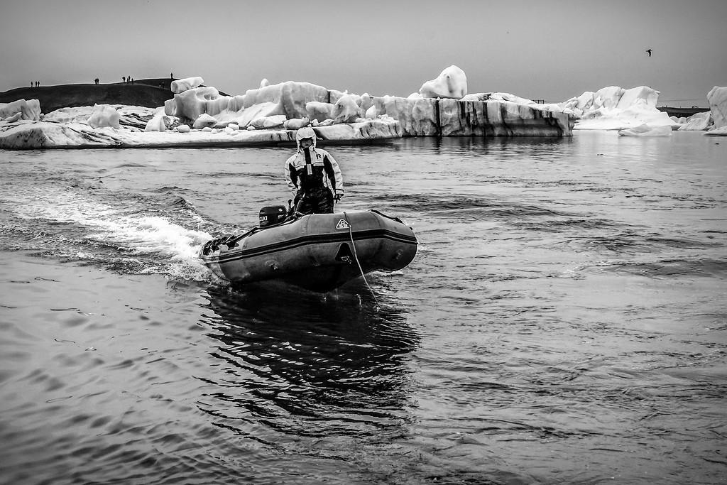 冰岛冰川泻湖(Glacier Lagoon),水上冰雕_图1-12