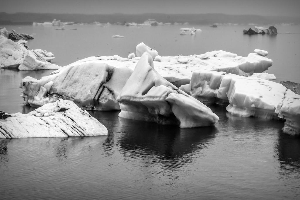 冰岛冰川泻湖(Glacier Lagoon),水上冰雕_图1-7