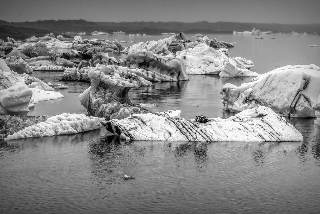 冰岛冰川泻湖(Glacier Lagoon),水上冰雕_图1-11