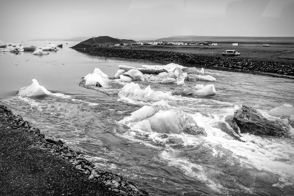 冰岛冰川泻湖(Glacier Lagoon),水上冰雕_图1-9