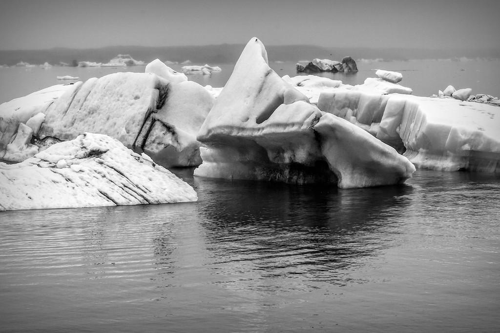 冰岛冰川泻湖(Glacier Lagoon),水上冰雕_图1-8