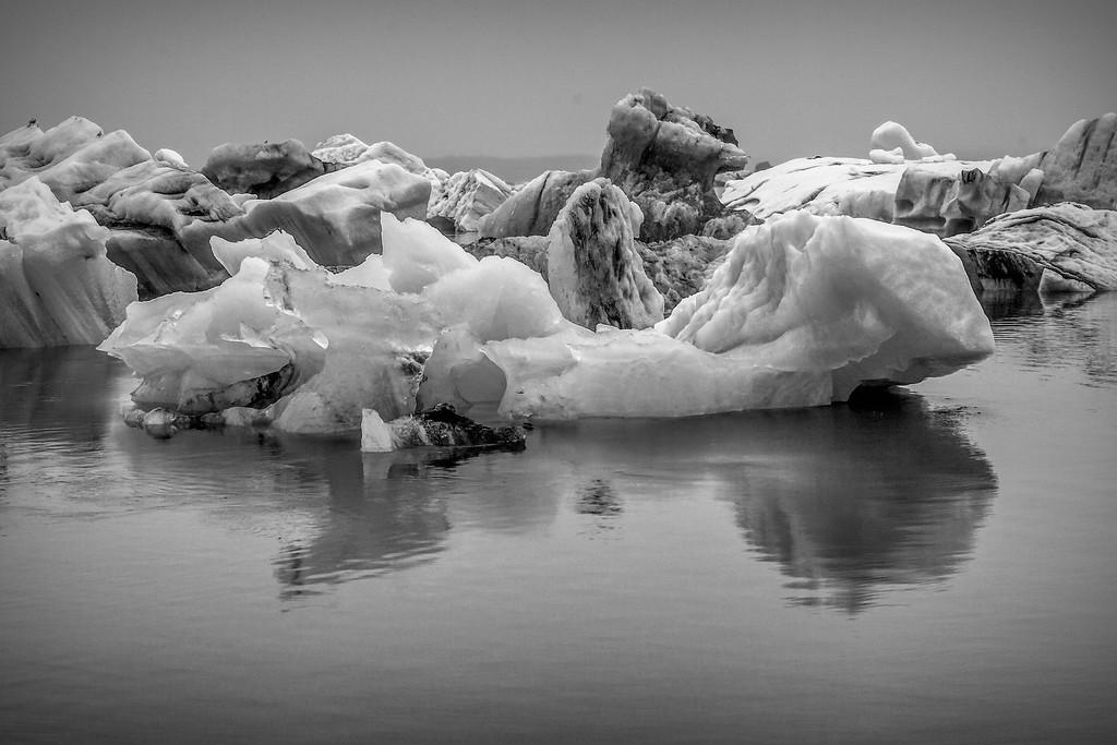冰岛冰川泻湖(Glacier Lagoon),水上冰雕_图1-10