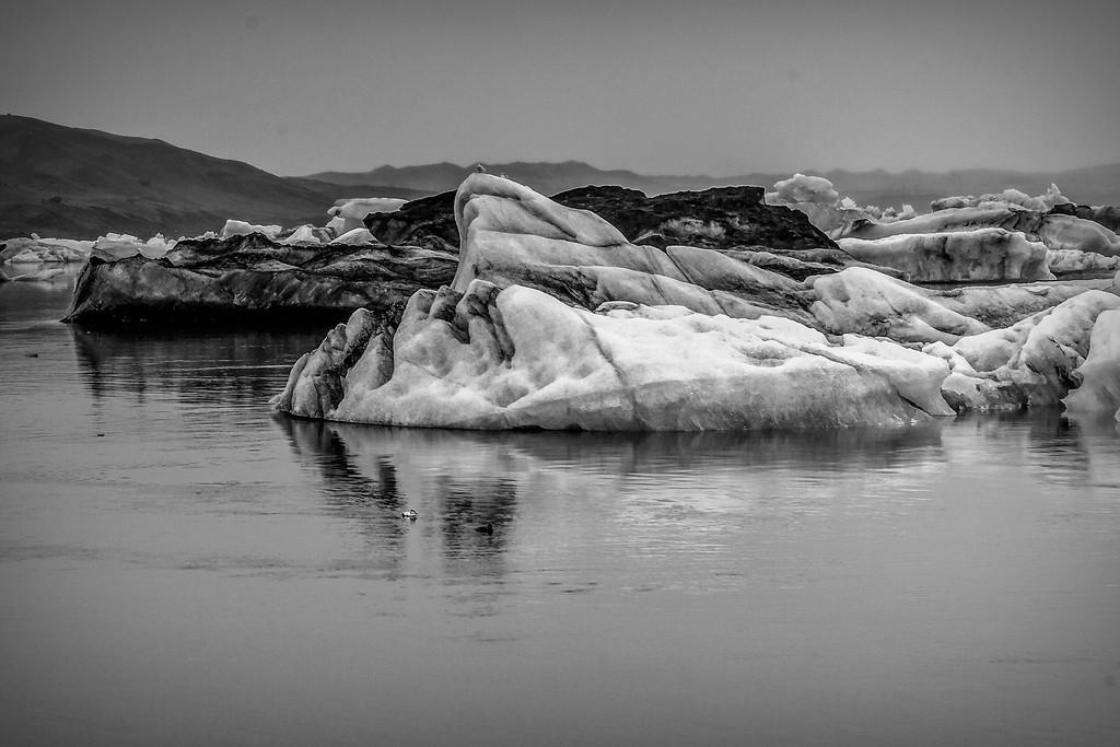 冰岛冰川泻湖(Glacier Lagoon),水上冰雕_图1-16