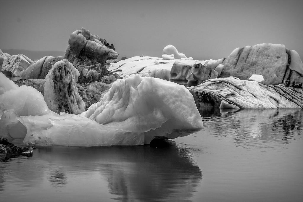 冰岛冰川泻湖(Glacier Lagoon),水上冰雕_图1-20