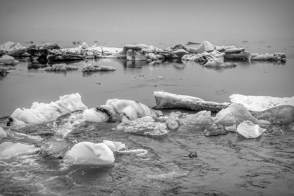 冰岛冰川泻湖(Glacier Lagoon),水上冰雕_图1-18