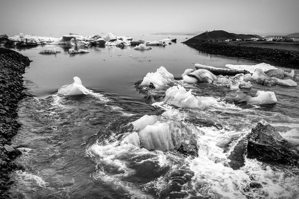 冰岛冰川泻湖(Glacier Lagoon),水上冰雕_图1-17