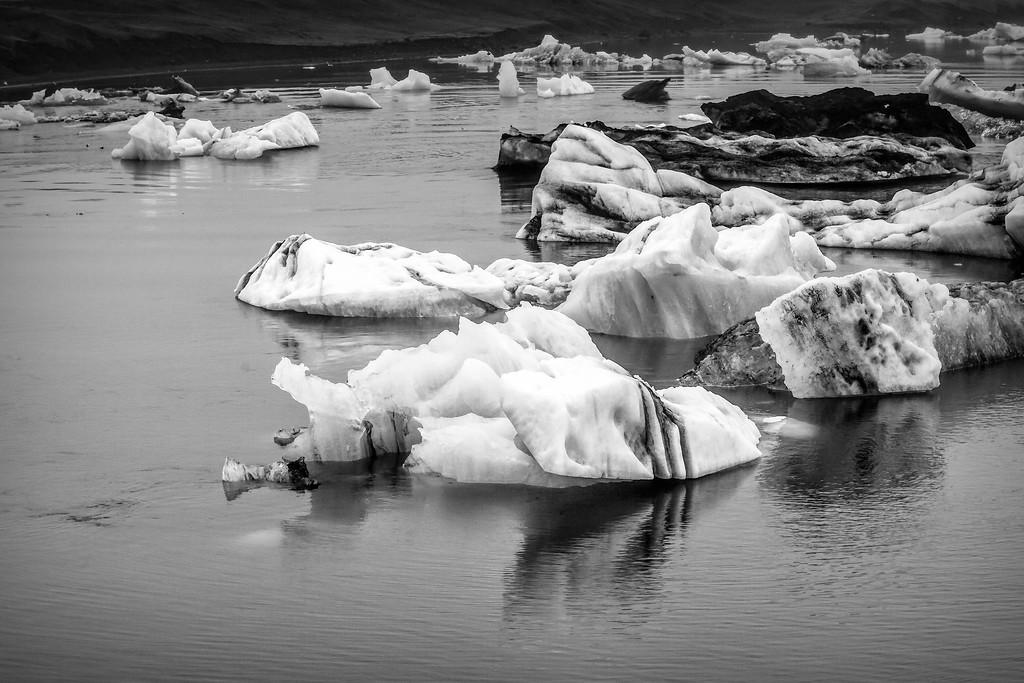 冰岛冰川泻湖(Glacier Lagoon),水上冰雕_图1-21