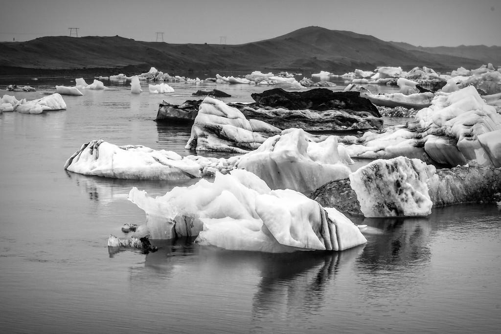 冰岛冰川泻湖(Glacier Lagoon),水上冰雕_图1-24