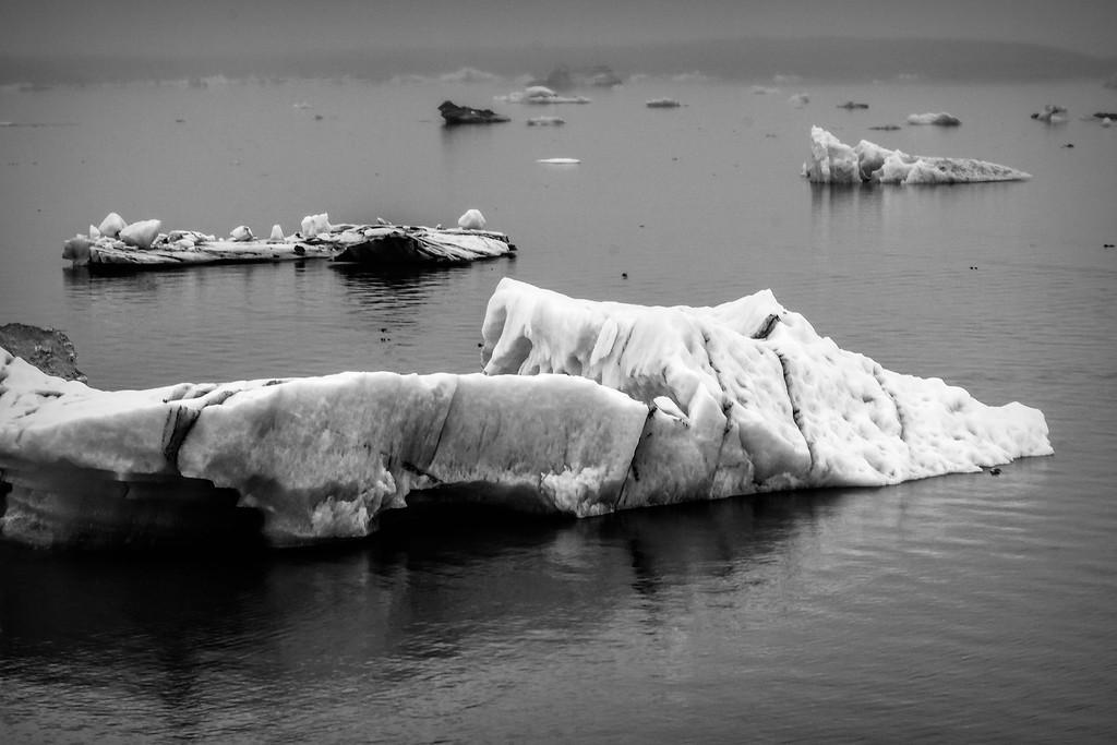 冰岛冰川泻湖(Glacier Lagoon),水上冰雕_图1-30