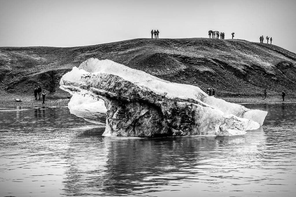 冰岛冰川泻湖(Glacier Lagoon),水上冰雕_图1-27