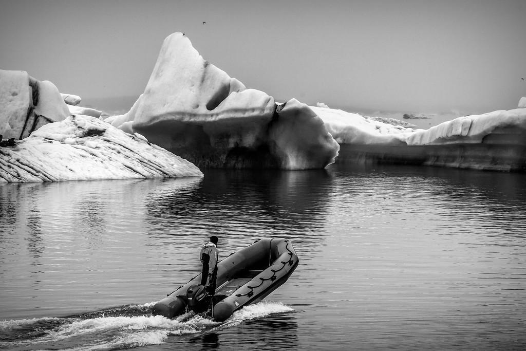 冰岛冰川泻湖(Glacier Lagoon),水上冰雕_图1-26