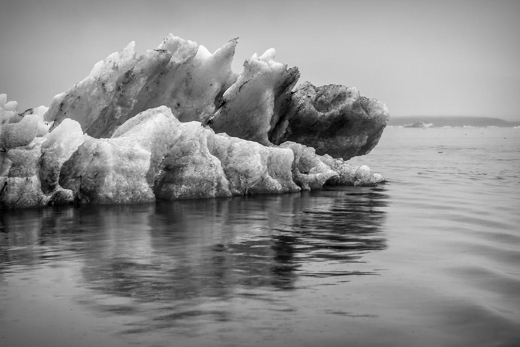 冰岛冰川泻湖(Glacier Lagoon),水上冰雕_图1-25