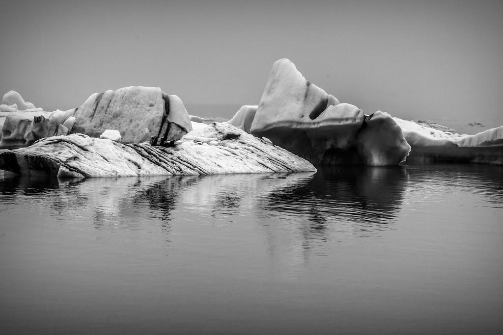 冰岛冰川泻湖(Glacier Lagoon),水上冰雕_图1-29