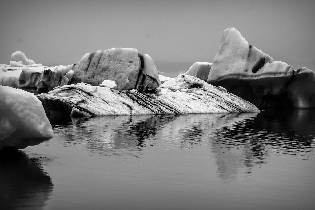 冰岛冰川泻湖(Glacier Lagoon),水上冰雕_图1-28