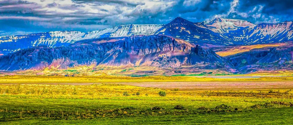 冰岛风采,迎面的山体_图1-33