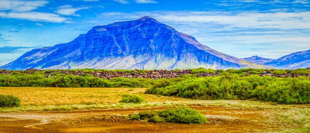 冰岛风采,迎面的山体_图1-38