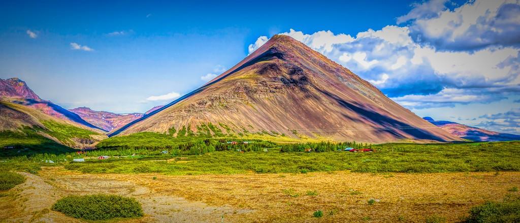 冰岛风采,迎面的山体_图1-32