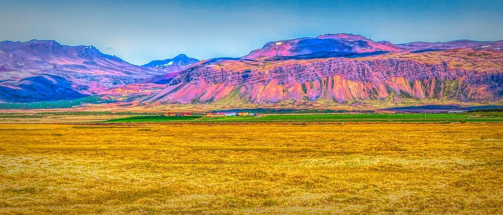 冰岛风采,迎面的山体_图1-29