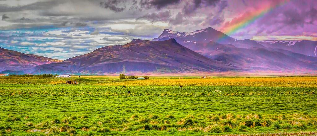 冰岛风采,迎面的山体_图1-26