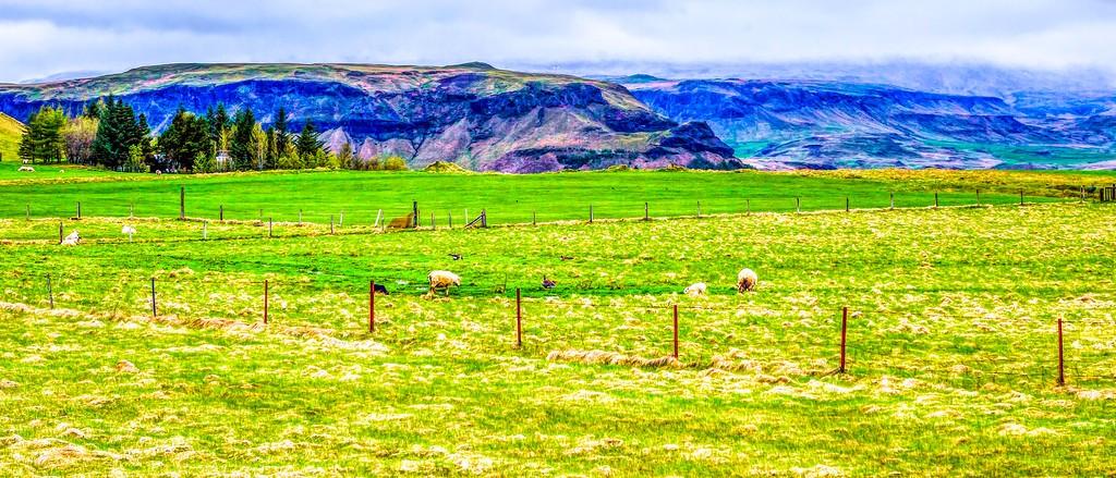 冰岛风采,迎面的山体_图1-17