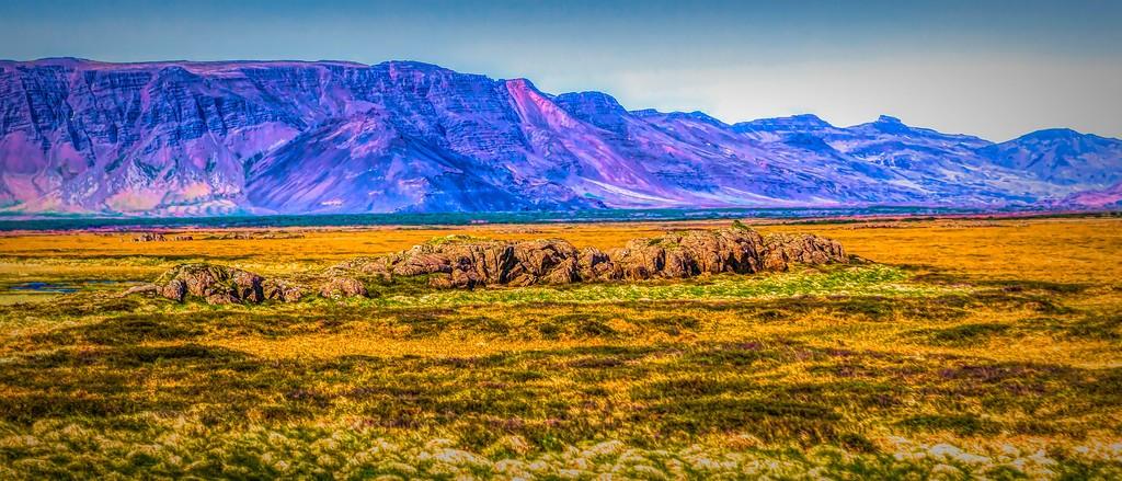 冰岛风采,迎面的山体_图1-18