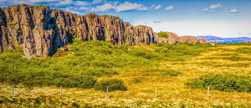 冰岛风采,迎面的山体_图1-13