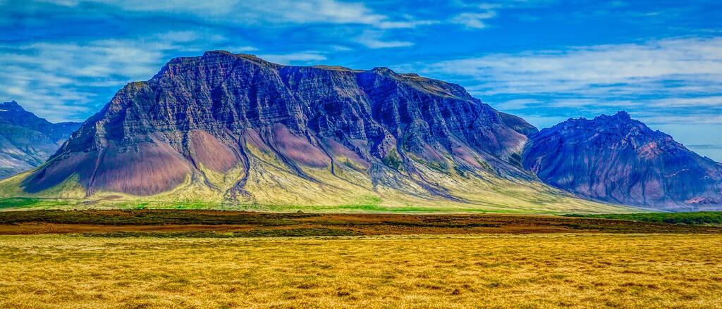 冰岛风采,迎面的山体_图1-10