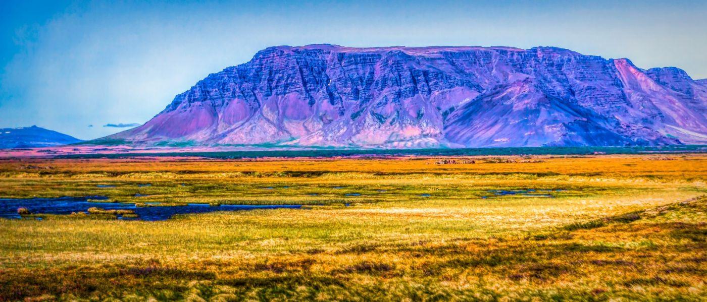 冰岛风采,迎面的山体_图1-11