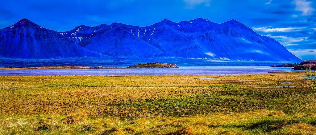 冰岛风采,迎面的山体_图1-7