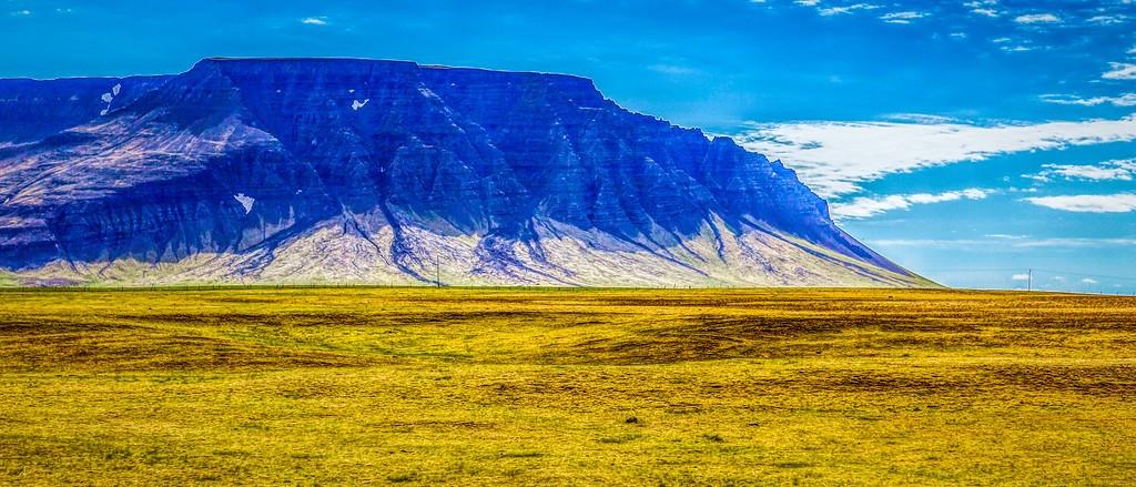 冰岛风采,迎面的山体_图1-5