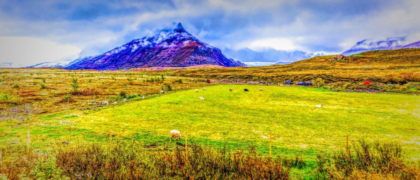 冰岛风采,迎面的山体_图1-3