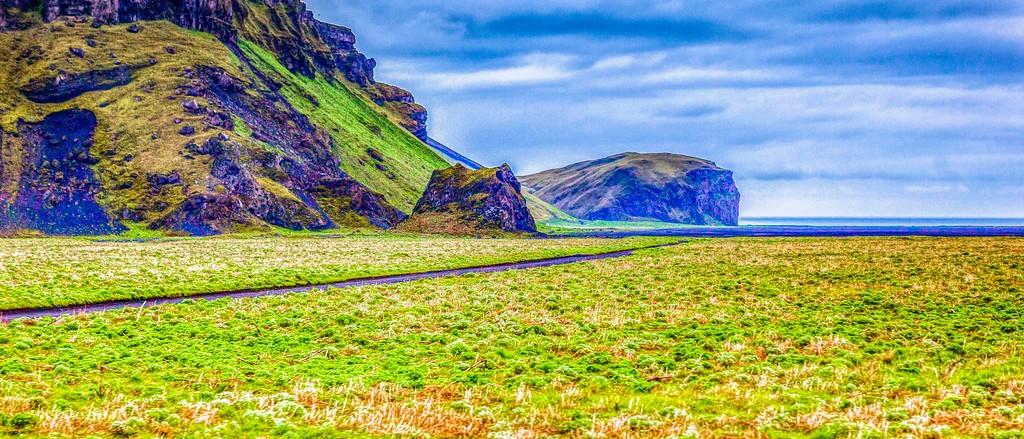 冰岛风采,迎面的山体_图1-4