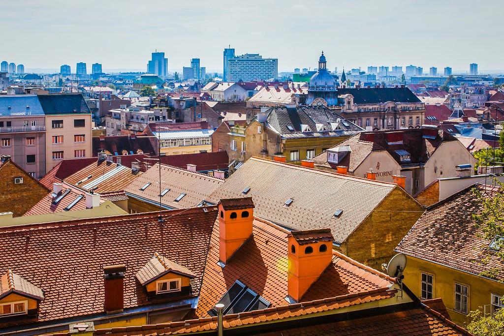 克罗地亚首都萨格勒布(Zagreb),城市印象_图1-25