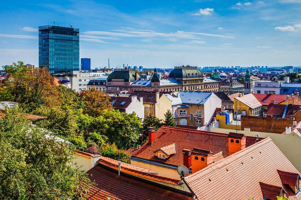 克罗地亚首都萨格勒布(Zagreb),城市印象_图1-17